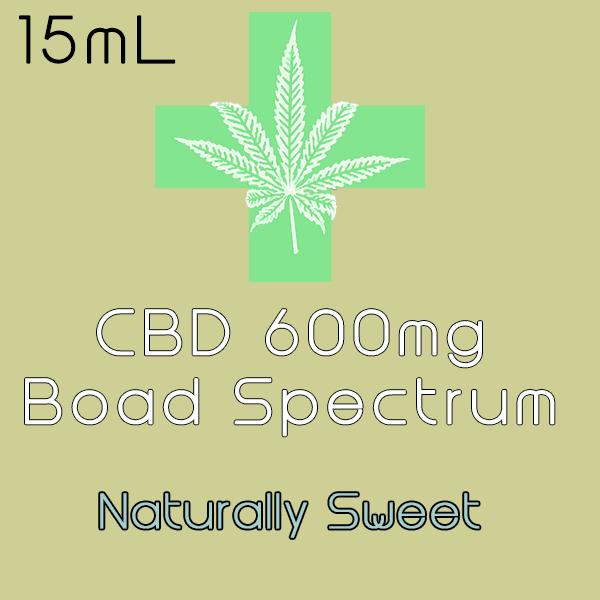 CBD Original Blend Display Label 600mg