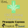 CBD Pineapple Express Display Label 600mg